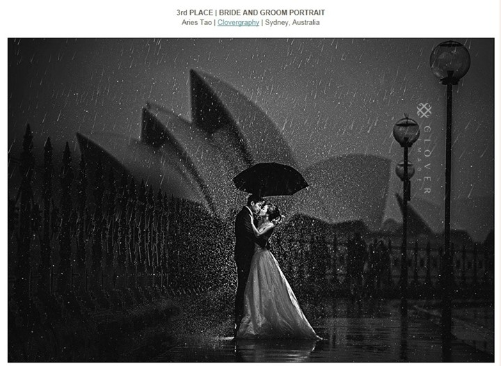 awarding Sydney pre-wedding photography